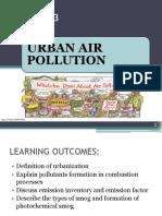 (EVT 474)LECTURE 3 - Urban Air Pollution