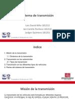 Sistema de Transmision Exposicion
