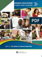 Funding Education Beyond HS 2010-11