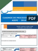 Aiepi 2016 Cuadro de Procedimientos
