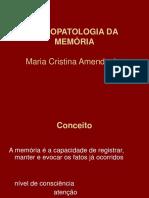 PSICOPATOLOGIA DA MEMÓRIA.ppt