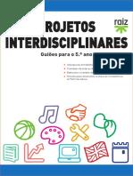 Projetos Interdisciplinares 5 ano