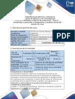 Guía de Actividades y Rúbrica de Evaluación - Paso 2 - Desarrollar y Presentar El Diagnóstico y Análisis Inicial Del Estudio de Caso (1)