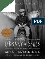 El Hogar de Miss Peregrine Libreria de Almas 3