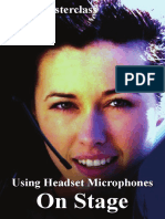 Using Headset Microphones on Stage - David Mellor