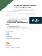 Instrumentos Para Mediciones Industriales Humedad