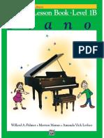 Alfred's Basic Piano, Lesson Book 1B