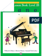 Alfred's Basic Piano, Lesson Book 1B
