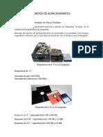 Dispositivos y Medios de Almacenamiento