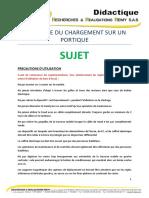 Sujet - Portique Alu