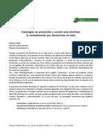 Prevención y Control de Micotoinas en Maíz.