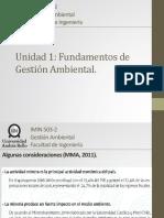 Unidad 1 - Fundamentos de Gestión Ambiental