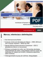 IBGE - Estudos de Genero 2018