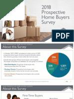 2018 prospective home buyers survey - treb optimized