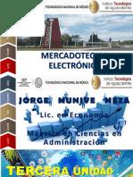UNIDAD 3.- MERCADOTECNIA ELECTRONICA