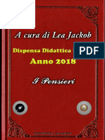 I Pensieri di Lea jackob  per I Casti 2018  Dipensa didattica n 5°