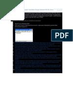 Cara Untuk Menghubungkan Visual Basic Dengan Database MS SQL Server