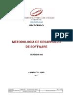Metodologia Desarrollo Software v001