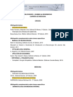 Bibliografia Medicina