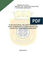Plan Nacional Contaminacion Hidrocarburos