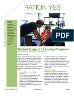 Student Support of Laptop Programs