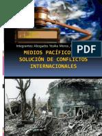 Exposicion Medios Pacificos Resolucion de Conflictos