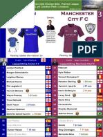 Premier League 180331 round 32 Everton - Manchester City 1-3