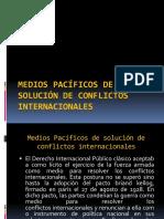 Medios Pacíficos de Solución de Conflictos Internacionales