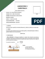 Lab 1 Carretera