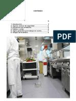 Manual de Normas de Seguridad Cocina
