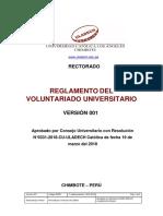 Reglamento Voluntariado Universitario v001