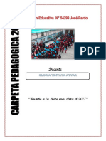 Carpeta Pedagogica 2017- 1