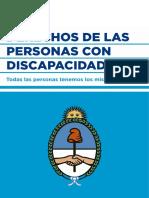 Lengua y Derechos. Texto 2. CONADIS- ADAJUS- Derechos de Las Personas Con Discapacidad