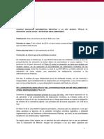 Cuarta circular de la Ley 39-2015, de 1 de octubre, del Procedimiento administrativo común de las Administraciones Públicas