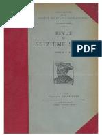 Revue du Seizième siècle - T. 2, 1914.pdf