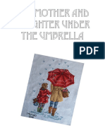 The Mother and Daughter Under the Umbrella