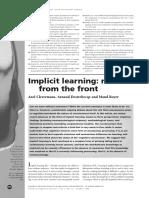 Cleeremans, Destrebecqz y Boyer - Implicit Learning.pdf