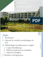 10_Le Contrôle Microbiologique de l'Eau