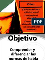 Normas de Habla 2003