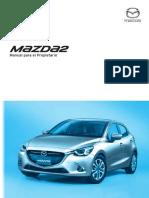 Mazda2 Manual Para El Propietario 8FS6-SP-17A L Edition2 Web OM