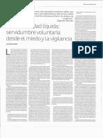 Zygmun Bauman Le Monde Diplomatiqué po r Alfredo Motato