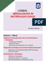 Aspectos Generales de Las Enfermedades Infecciosas