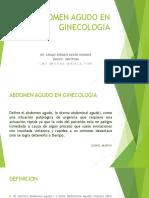 Abdomen Agudo en Ginecologia-1