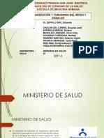 Organización y Funciones Del Minsa y Essalud - Clase 7.3