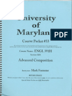 Engl391 Course Packet