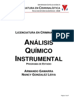 46.30-0060 ANÁLISIS Instrumental