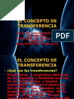 El Concepto de Transferencia