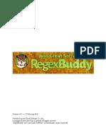 Reg Ex Buddy