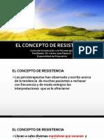 El Concepto de Resistencia