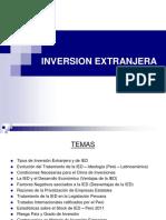 COMERCIO INTERNACIONAL  -  Inversión Extranjera Directa
